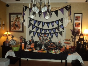 Table of tricks and treats...