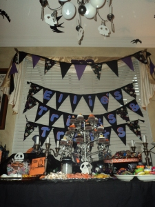 Ellie's Tricks & Treats Table...