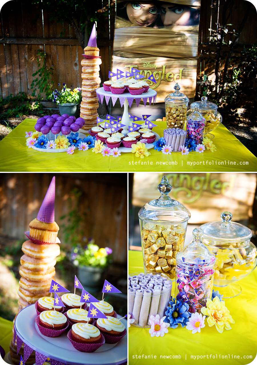 Rapunzel Tangled Cake Toppers