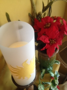 Mantle Pillar Candle Shade