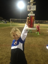 E at the rec soccer championship game, 2013