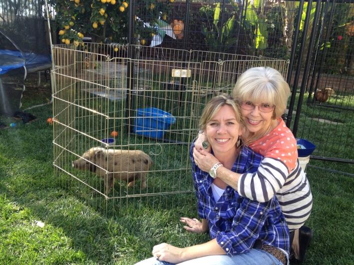 Me and mom...